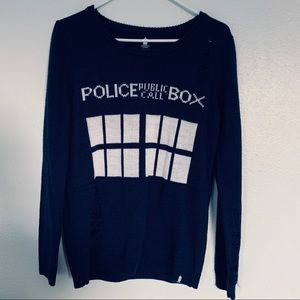 Hot Topic | BBC | Police Public Call Box sweater
